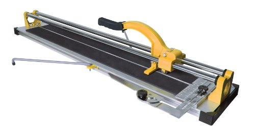 QEP 10630 24-Inch Manual Tile Cutter with Tungsten Carbide Scoring Wheel for Porcelain and Ceramic Tiles