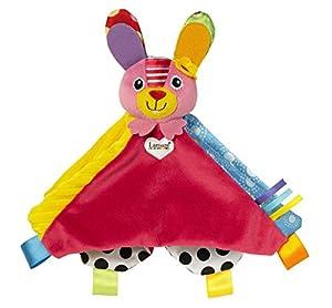 Lamaze LC27624 - Mantita de arrullo, diseño Bella la conejita, color rosa en BebeHogar.com