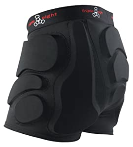 Triple 8 Roller Derby Bumsaver, Black, X-Small