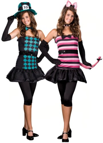 Dreamgirl Womens Mad About You (Reversible) Teen Costume