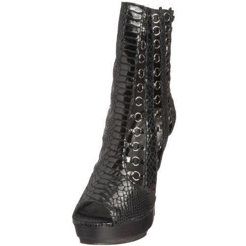Zigi NY Women's 9048-23 Black Heel 4 UK