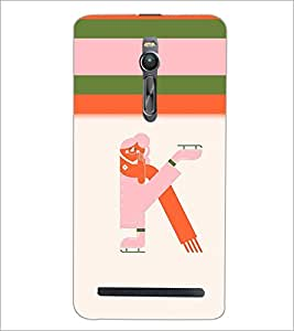 PrintDhaba GRANDbet K D-2634 Back Case Cover for ASUS ZENFONE 2 (Multi-Coloured)