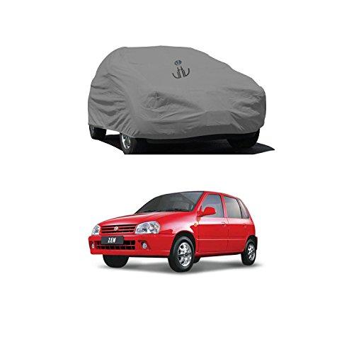 Uttu Ubcar106 Uttu Grey Matty Car Cover For Maruti Zen(Grey)