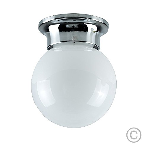 modern-flush-mounted-polished-chrome-and-frosted-opal-glass-round-globe-ceiling-light-shade