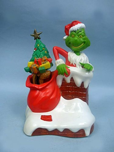 How the Grinch Stole Christmas Grinchamatronic Interactive Coin Bank - 1