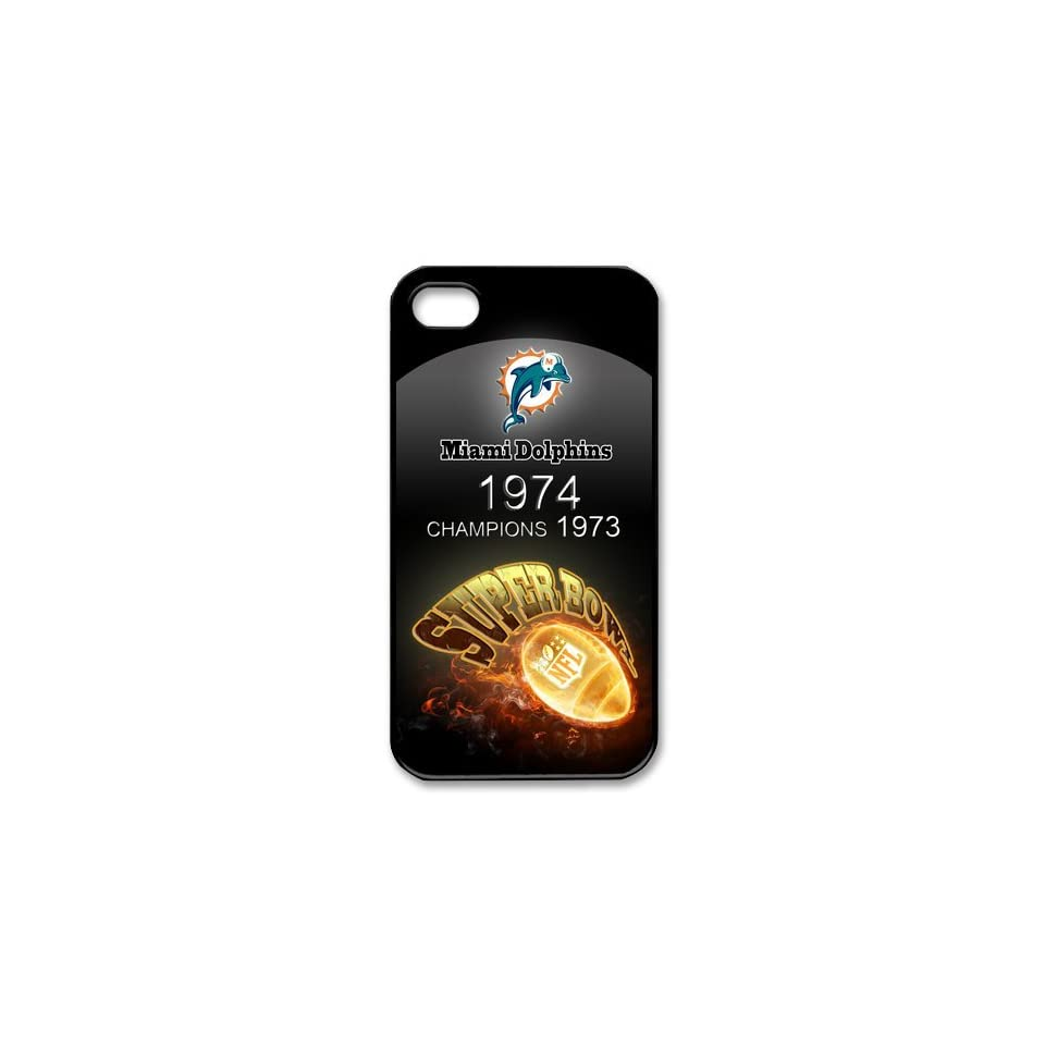 Best Iphone Case, Custom Case nfl Miami Dolphins Iphone 4/4s Case Cover New Design,top Iphone 4 Case Show 1l466