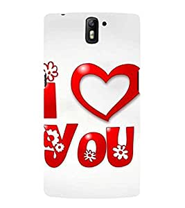 Love and Life 3D Hard Polycarbonate Designer Back Case Cover for OnePlus One