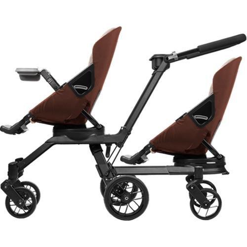 Orbit Baby - G3 Double Helix Stroller With 2 Seats - Mocha Khaki front-295253