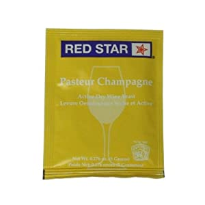 Red Star Champagne Yeast (10 Packs) Dried Yeast