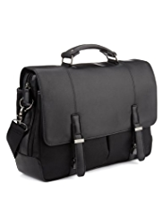 Single Handle Detachable Shoulder Strap Briefcase