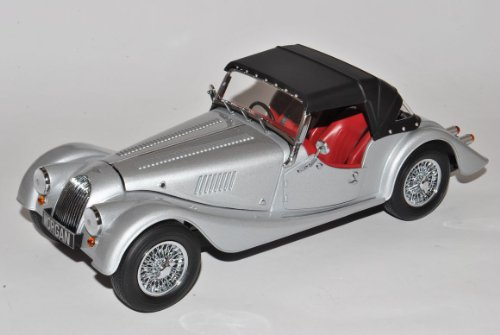 Morgan 4/4 Sports 2008 Mit Soft Top Silber 1/18 Kyosho Modell Auto