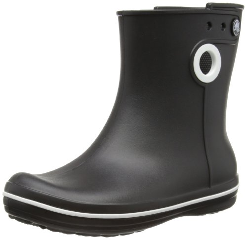 Crocs Womens Jaunt Shorty Wellington Boots 15769-001-413 Black 3 UK, 36 EU, 5 US, Regular
