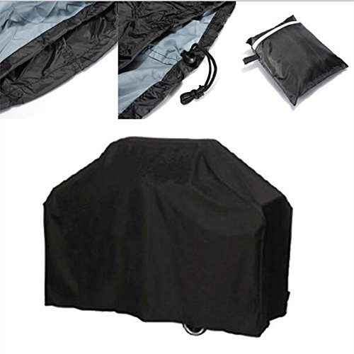 Waterproof BBQ Grill Cover, Black, S (Pu Pu Grill compare prices)