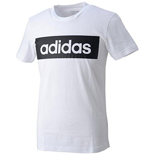 (アディダス)adidas ESS LIN Tシャツ BFS42 AJ6076 ホワイト J/S