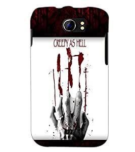 PrintDhaba Quote D-6049 Back Case Cover for MICROMAX A110 CANVAS 2 (Multi-Coloured)