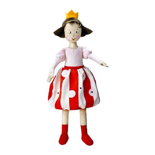 Ikea Nojsig Soft Toy, Princess - 1 Ea - 1