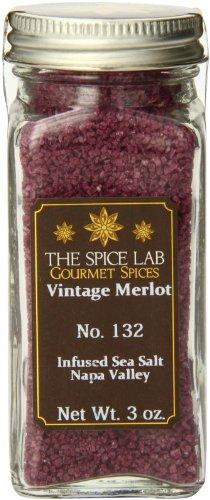The Spice Lab Vintage Merlot Sea Salt-Infused Sea Salt, 1-Count Package (Infused Salt compare prices)