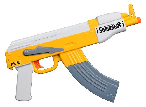 Saturator AK-47 Water Gun - Yellow