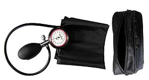 Tensiomètre simple tube pour haut du bras avec manchon Velcro et pochette de rangement Tiga-Med