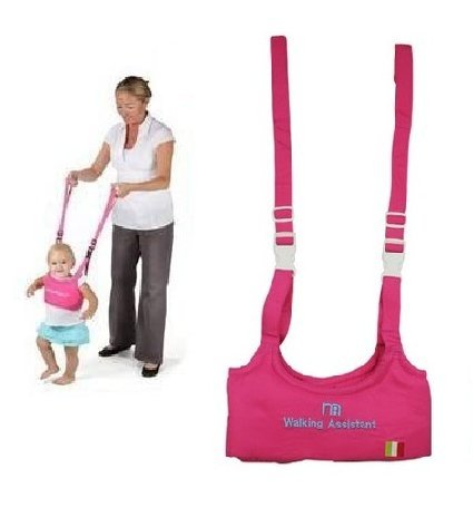 Baby Toddler Walking Assistant Learning to Walk Harness Walker for 6-18 Months Fuchsia