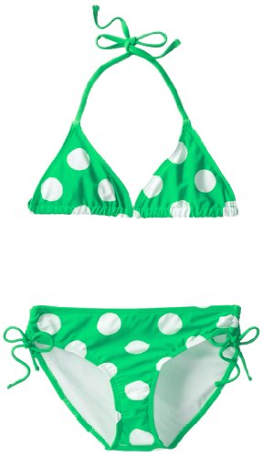 Beachball Bikini Swimsuit, Green, 10