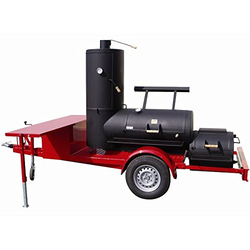 Joe`s Barbeque Smoker Trailer 24 Zoll Chuckwagen Catering