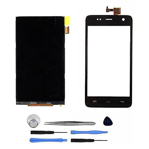 KIT 3 IN 1 LCD DISPLAY MONITOR E VETRO TOUCH SCREEN PER WIKO BLOOM NERO RICAMBIO
