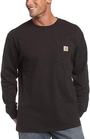carhartt men 39 s workwear pocket long sleeve t