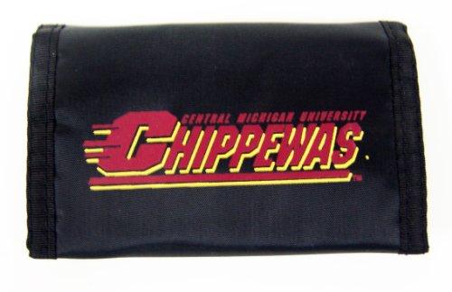 NCAA Central Michigan Chippewa's Nylon Wallet