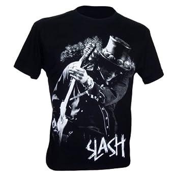 Immortal Herren Slash Guns N' Roses Solo Guitar Hero Rock T-Shirt, Grobe M, schwarz