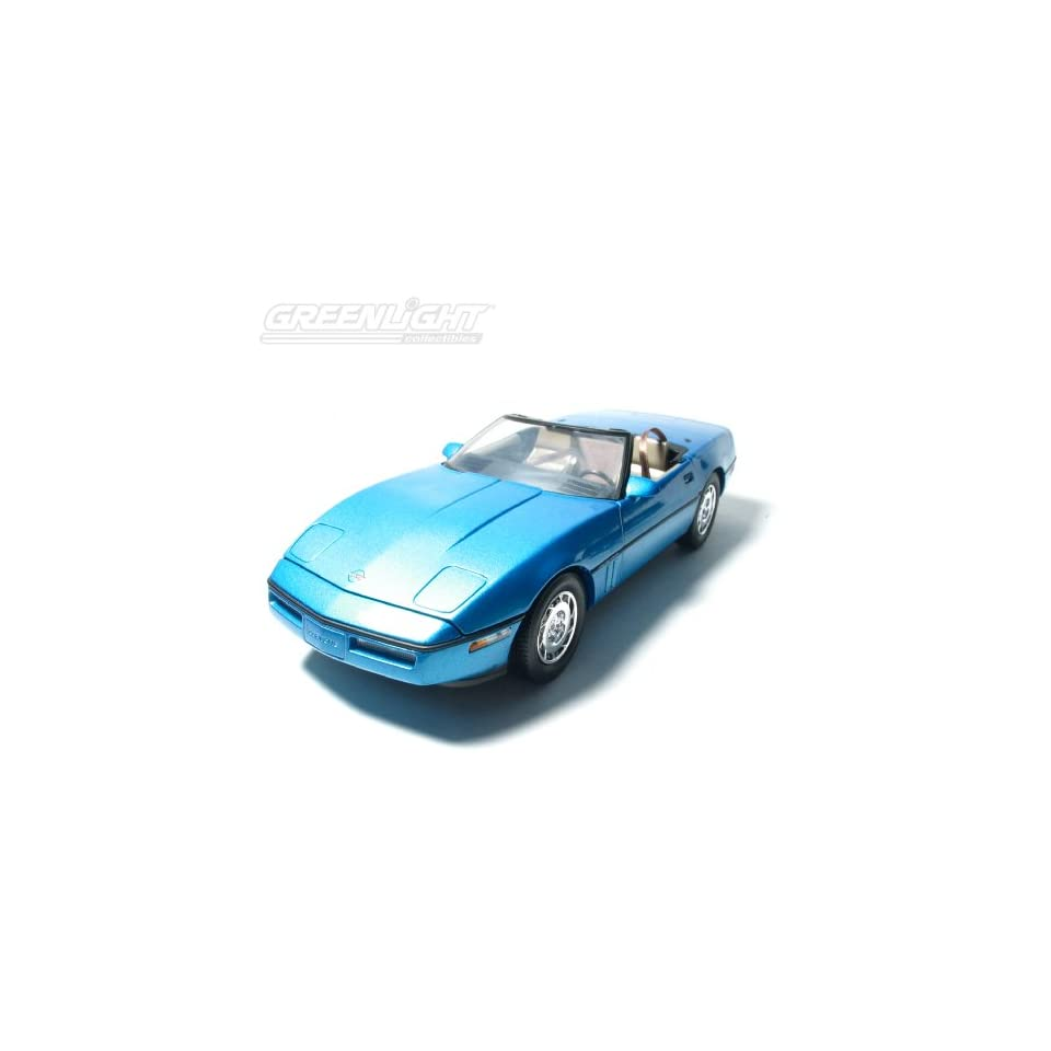 118 1986 Chevy Corvette Convertible   Blue