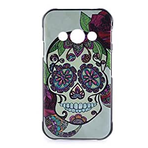 GENERIC Skull Pattern Black PC Material Phone Case for Samsung Galaxy Ace 4 #04165472
