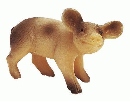 Bullyland Spotten Piglet Standing Toy Figure - 1