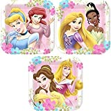 Disney Fanciful Princess Shaped Dessert Plates Party Accessory