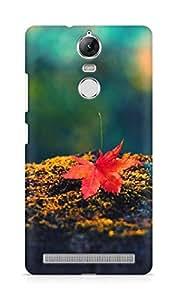 Amez designer printed 3d premium high quality back case cover for Lenovo K5 Note (autumn leaf nature)