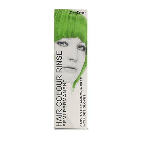 2 x Stargazer Semi Permanent Hair Colour Dye UV Green Party Festival (Stargazer Hair Color compare prices)