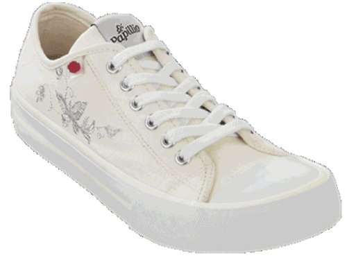 Papillio walking-shoes Mandolin from Textile in White with a narrow insole size 39.0 N EU