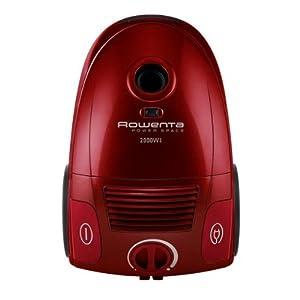 rowenta ro212301 aspirateur sac power space 2000 w rouge. Black Bedroom Furniture Sets. Home Design Ideas