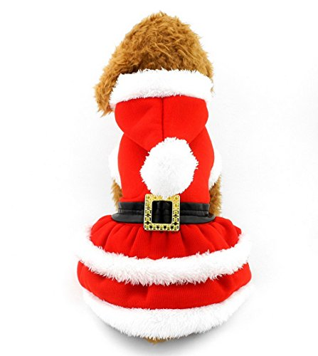 selmai-christmas-clothes-pleated-dress-dog-hoodie-costume-button-front-red-xs-for-small-dog-cat-pupp