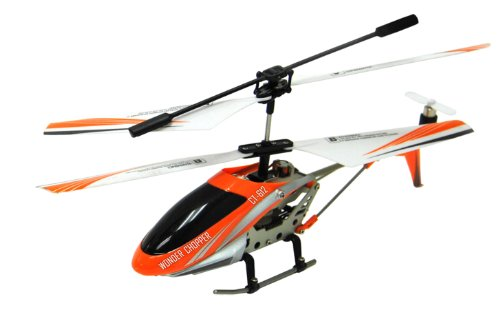 Orange Co-axial RC Helicopter 3 Channel Indoor Wonder Chopper