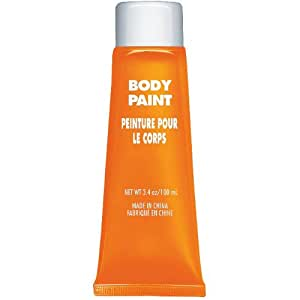 Team Spirit Orange Body Paint