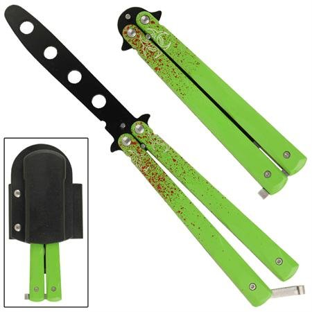 Zombie Horde Butterfly Trainer Black