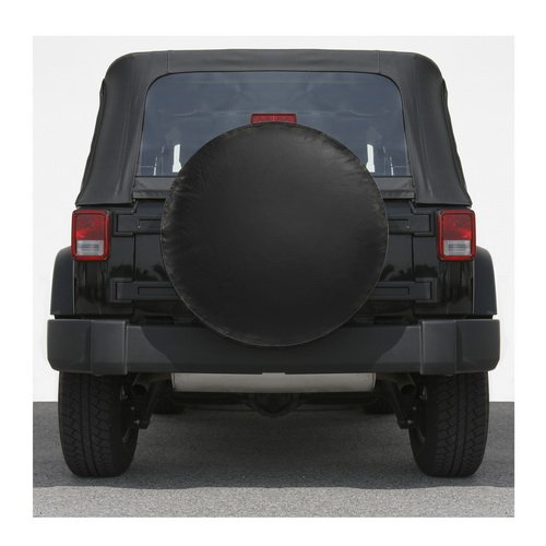 Universal Spare Tire Cover Fits Tire Diameters 29.5 to 32.5 Inch ( Black-Large ) (Hummer H3 Hard Tire Cover compare prices)