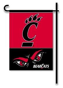 Buy NCAA Cincinnati Bearcats 2-Sided Garden Flag by BSI