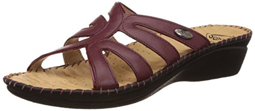 adbcc9d11 DR. Scholls Women s Walk Leather Slippers  NA  Rs  Mrp - NA ...