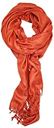 Ted and Jack - Luxurious Solid Pashmina (Orange)