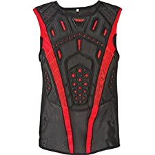 Fly Racing Undercover II Pullover Adult Roost Guard MX/Off-Road/Dirt Bike Motorcycle Body Armor - Black / Small/Medium