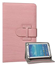 DMG Swivel Stand Flip Cover for XOLO Play Tegra Note Tablet (Pink)