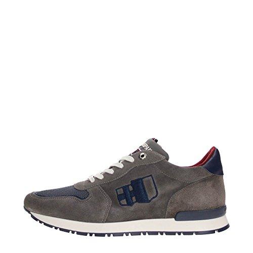 D'Acquasparta BOTTICELLI U650 Sneakers Uomo Scamosciato SUEDE GREY SUEDE GREY 41