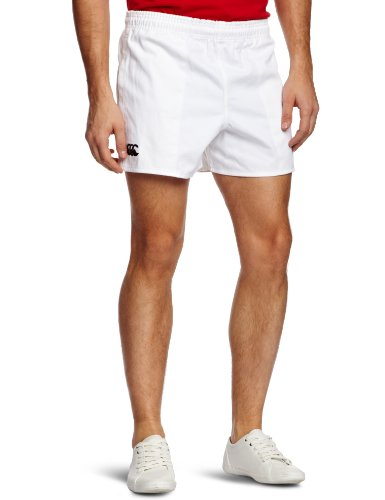 Canterbury Men's Professional Rugby Short - White, 32 Inch